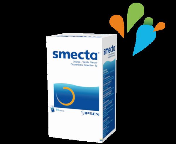 Smecta<sup>®</sup>思密達<sup>®</sup>